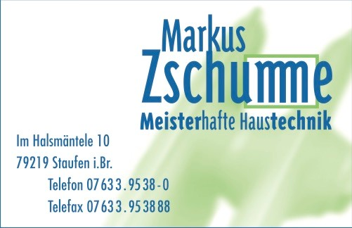 Markus Zschumme